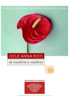 V CICLE ANNA RICCI, DE NOSALTRES A VOSALTRES
