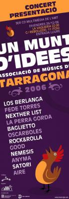 PRESENTACIÓN DEL TERCER CD UN MONTÓN DE IDEAS 2006 DE LA aMt