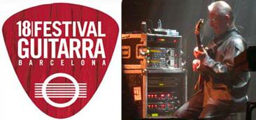 18 FESTIVAL DE GUITARRA DE BARCELONA DEL 22 DE MARZO AL 31 DE MAYO