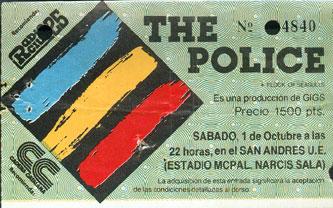 The PoLice 24 años después