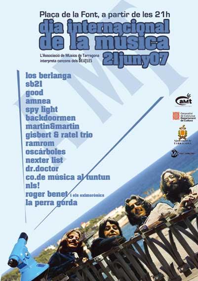 FESTIVAL aMt PARA EL DIA INTERNACIONAL DE LA MÚSICA, Tributo a los BEATLES