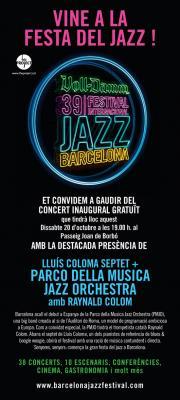 39 FESTIVAL DE JAZZ EN BARCELONA