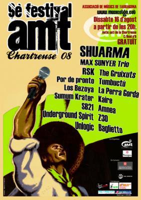 SHUARMA cabeza de cartel del IX Festival aMt en la Chartreuse el 16 de Agosto