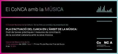 El CONCA amb la Música feta a Catalunya