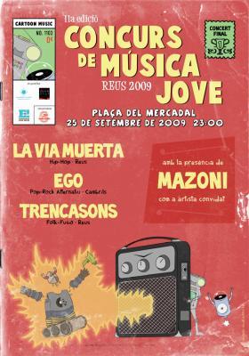 Final del Concurs de Música per a Joves de Reus 2009