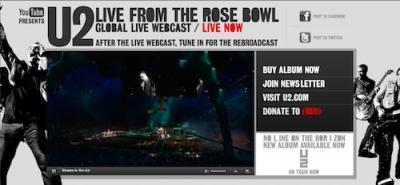 U2 los conciertos de la web 2.0 plus