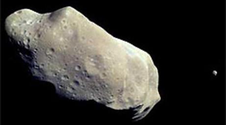 Encontrada agua en asteroide