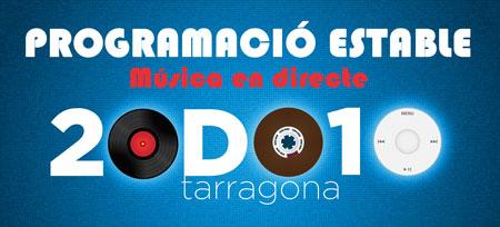 12 BANDES  TARRAGONINES A LA PROGRAMACIÓ ESTABLE DEL D.O.TGN 010