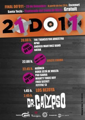 Final 23 de septiembre Tarragona, XXI concurso musical DO'011