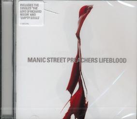"MANIC STREET PREACHERS ""Lifeblood"""